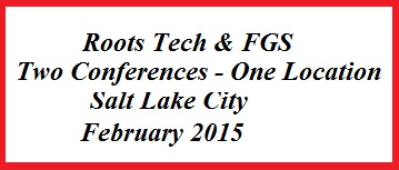 13009cb6747 A shout out to all who are attending the FGS Conference in San Antonio this  weekend. And the schedule for 2015 has been uploaded and you can prepare  for ...