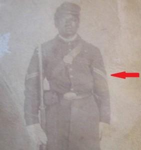 USCT Aaron Brooks Corporal