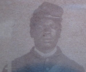 USCT Aaron Brooks Face View