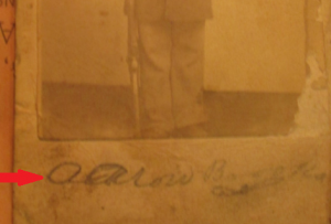 USCT Aaron Brooks Signature