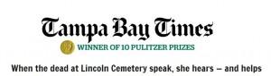 Tampa Newspaper Cemetery story