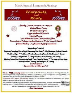 PGAAHGS Juneteenth Flyer